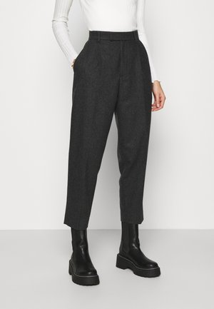 ALTA TROUSERS - Bukse - grey melange