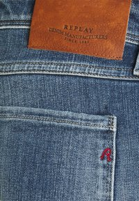 Replay - ANBASS AGED  - Straight leg jeans - medium blue - 2