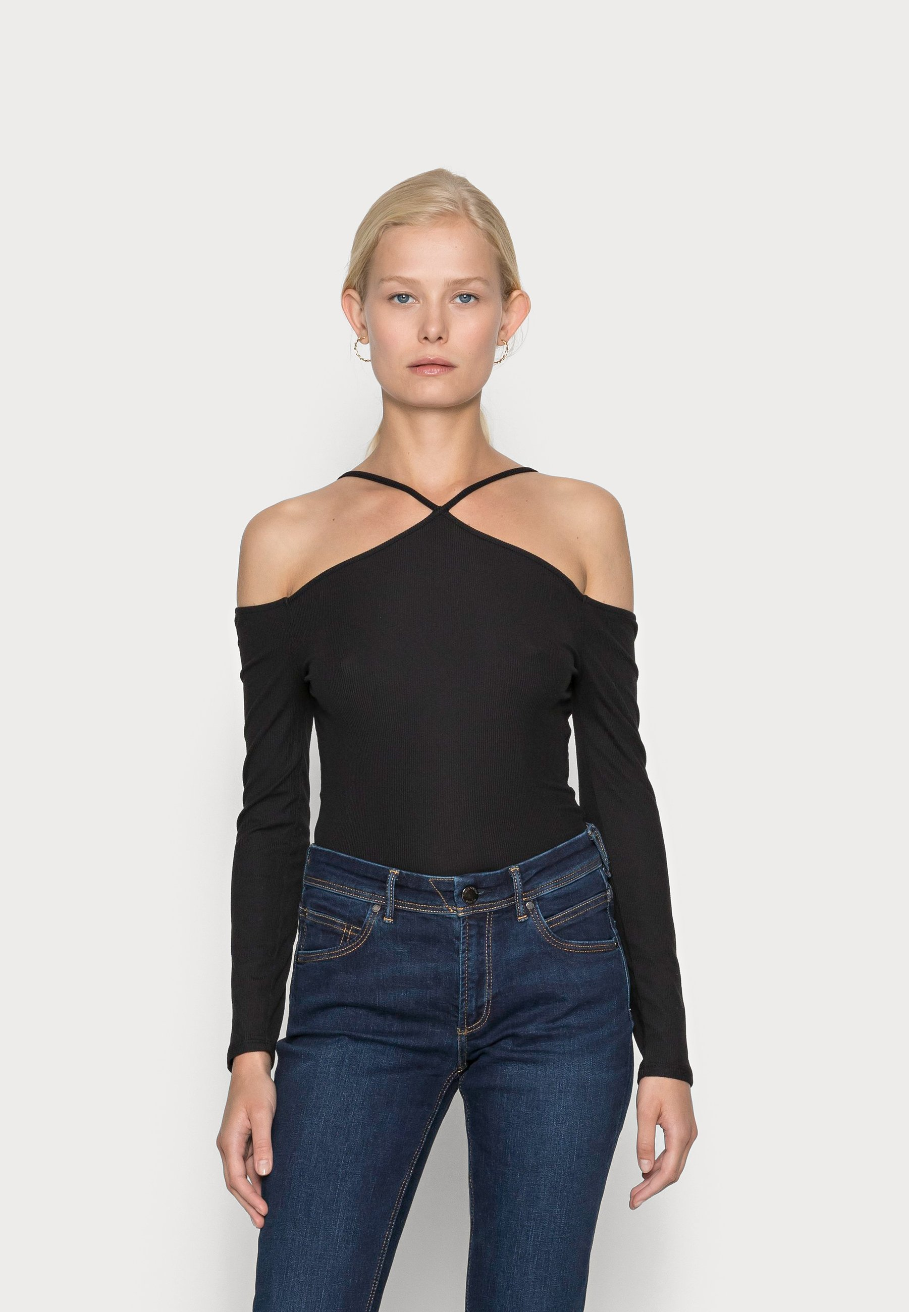 Women COLD SHLDR TIERA - Long sleeved top