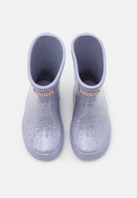 Hunter ORIGINAL - KIDS FIRST CLASSIC GIANT GLITTER - Wellies - pulpit purple - 3
