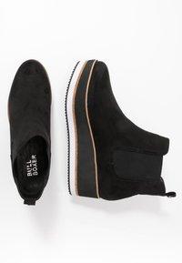 Bullboxer - Kotníkové boty na platformě - black - 1