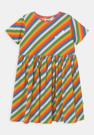 CHASITY - Jersey dress - multi coloured