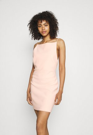 MADDISON BOAT DRESS - Cocktail dress / Party dress - peach