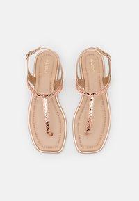 ALDO - SHEINA - T-bar sandals - rose gold - 4