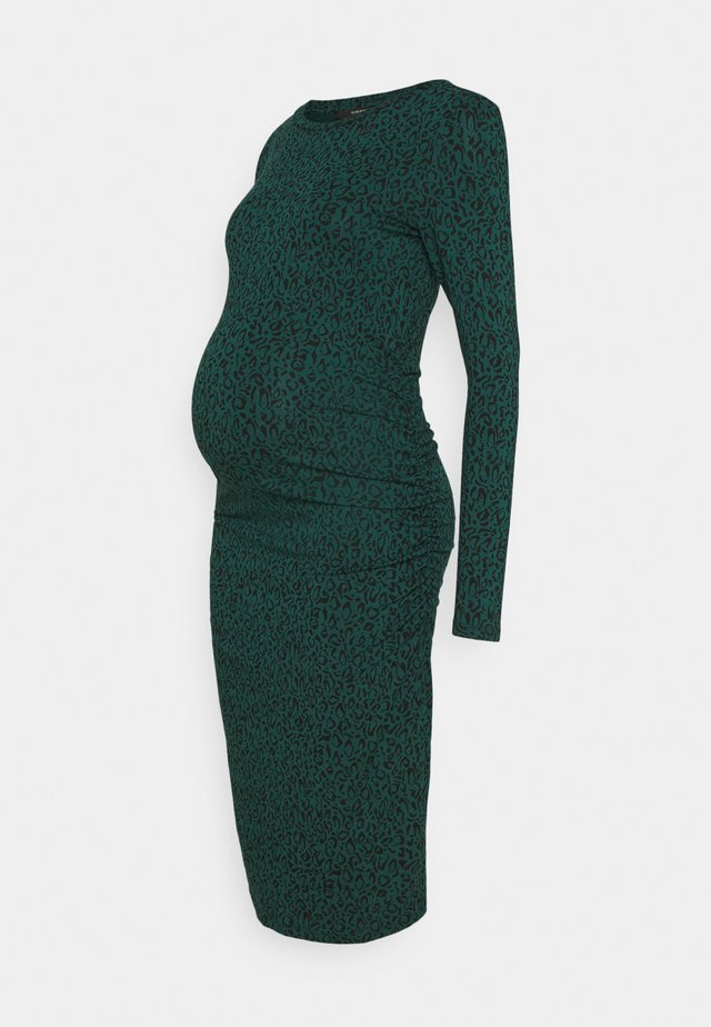 DRESS LEOPARD SCRIBBLE - Vestido ligero - ponderosa pine