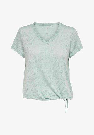 Camiseta estampada - gray mist