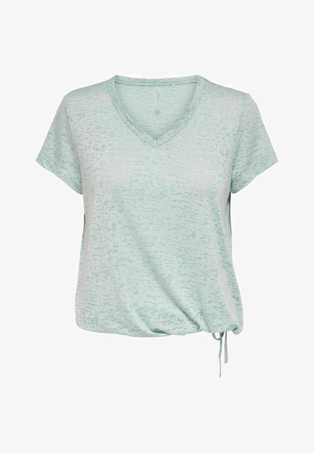 T-shirt imprimé - gray mist