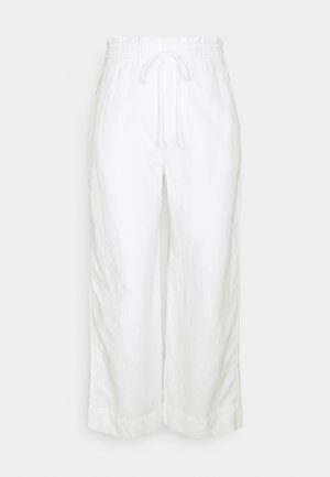 WIDE LEG - Trousers - new off white