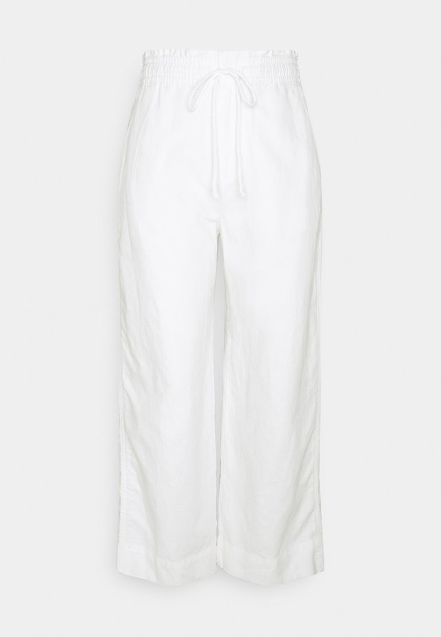 WIDE LEG - Pantalon classique - new off white