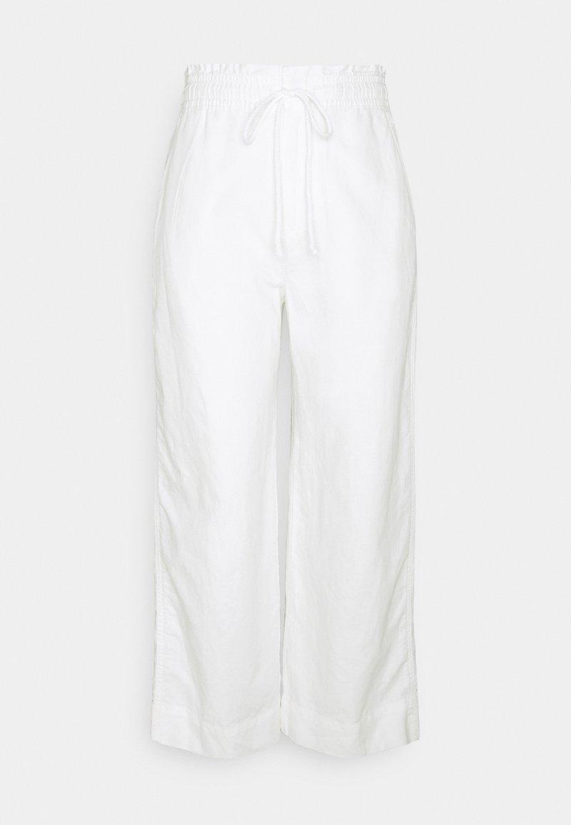 GAP Petite - WIDE LEG - Bukse - new off white