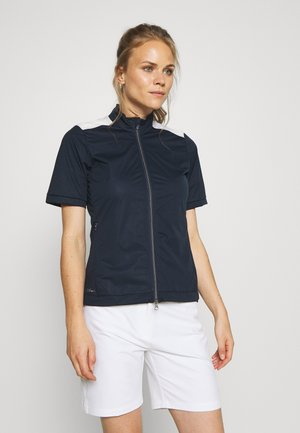 WOMENS WIND JACKET - Softshellová bunda - navy