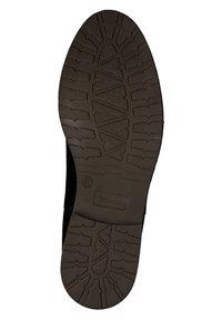 Tamaris - Ankle boots - black nubuc - 3