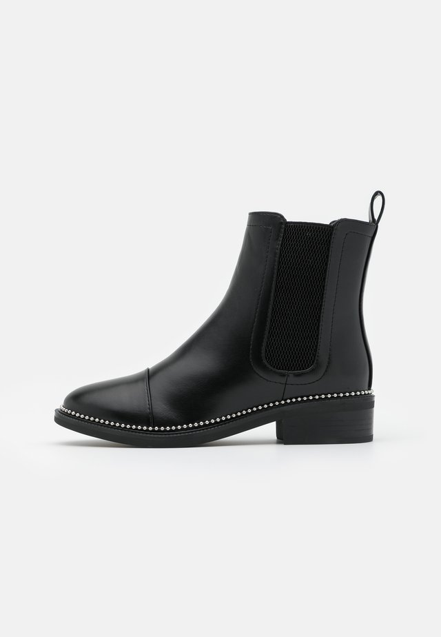 WIDE FIT APPLE - Classic ankle boots - black