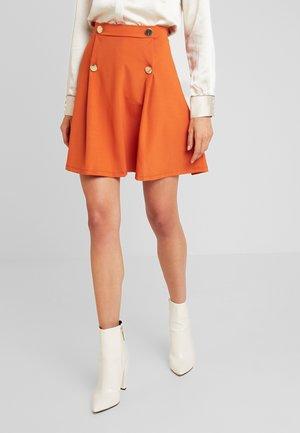Mini skirt - orange