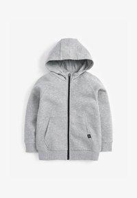 Next - Zip-up sweatshirt - grey - 0