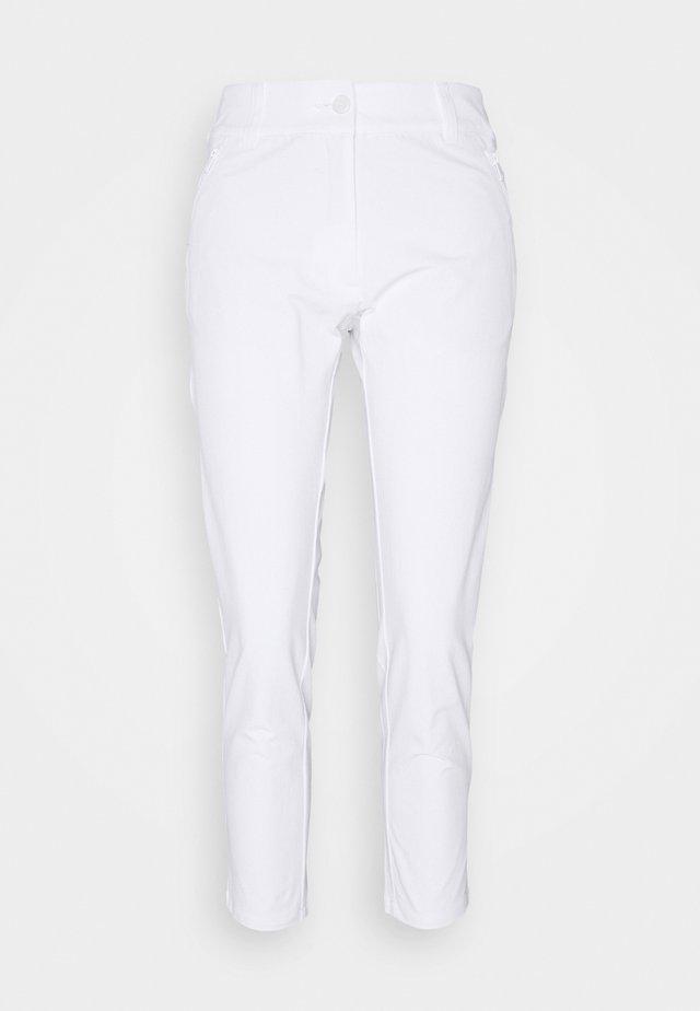 ARKOSE TROUSER - Pantalon classique - white