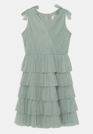CROSS OVER FRONT  - Vestito elegante - misty jade