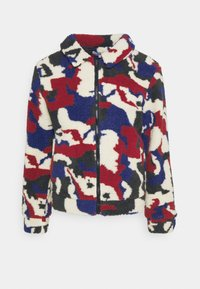 Another Influence - PRINTED BORG JACKET - Winterjas - multi - 5