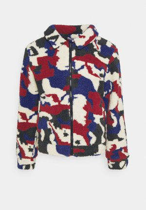 PRINTED BORG JACKET - Winterjas - multi
