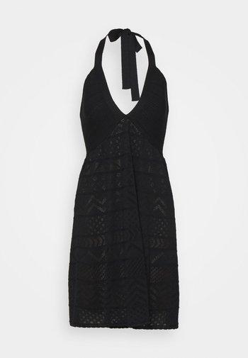 ABITO SENZA MANICHE - Jumper dress - black
