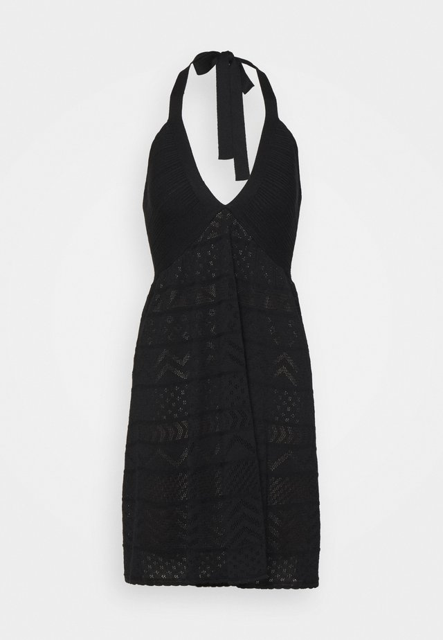 ABITO SENZA MANICHE - Jumper dress - black