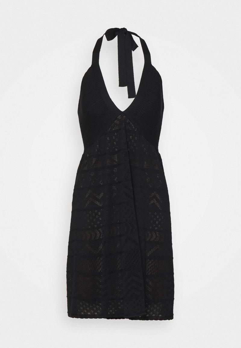 M Missoni - ABITO SENZA MANICHE - Jumper dress - black