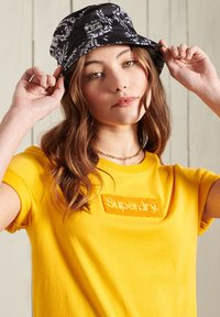 Superdry - CORE LOGO - Print T-shirt - springs yellow - 1