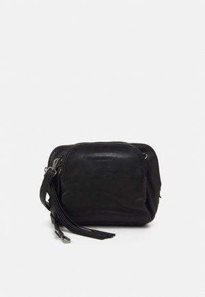 TRIPLE ZIPLE - Across body bag - black