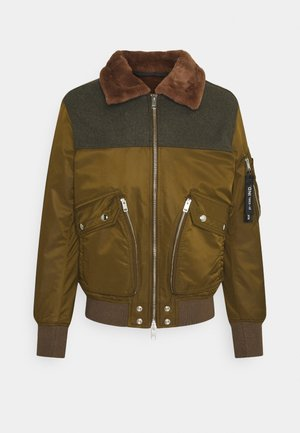 W-LOUIS JACKET - Vinterjacka - green