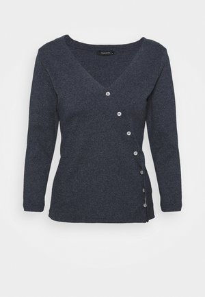 Long sleeved top - indigo