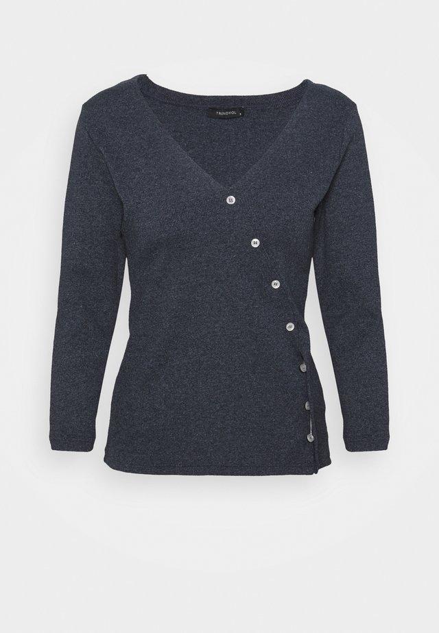 Long sleeved top - indigo