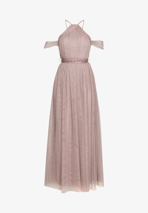 MAXI TRIMS BELT - Occasion wear - oyster