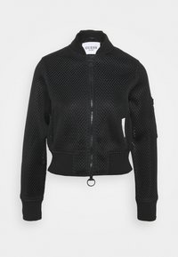 Guess - FULL ZIP JACKET - Training jacket - jet black - 0