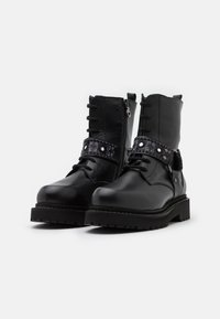 Pinko - MARTINE BOOT - Lace-up ankle boots - nero limousine - 2