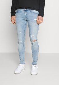 Jack & Jones - JJITOM JJORIGINAL - Jeans Skinny Fit - blue denim - 0