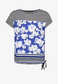 Betty Barclay - TUNNELZUG - Print T-shirt - dunkelblau/weiß - 3