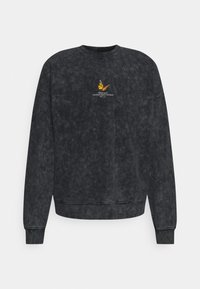 Good For Nothing - ACID WASH BUTTERFLY UNISEX - Sweater - grey - 0