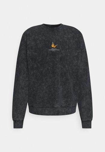 ACID WASH BUTTERFLY UNISEX - Sweatshirt - grey
