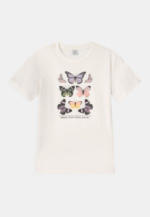 RIO - Print T-shirt - light dusty white