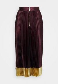 Ted Baker - GLAYCIE - A-line skirt - dark red - 1