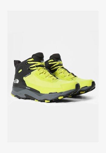 M VECTIV EXPLORIS MID FUTURELIGHT - Hiking shoes - sulphurspringgn/tnfblack