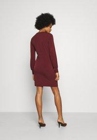 Vero Moda - VMTWISTED KNOT SHORT DRESS - Jerseykjole - port royale - 2