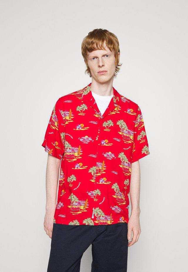 BEACH - Camisa - etna red