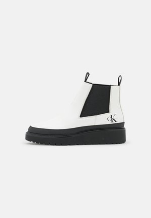 PLUS MID CHELSEA - Ankle boot - bright white