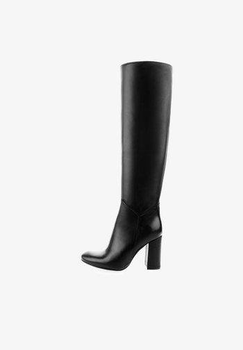 PERTOSA - Laarzen met hoge hak - black