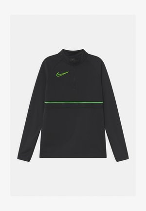T-shirt de sport - black/green strike