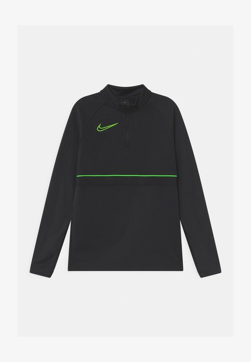 Nike Performance - Funkční triko - black/green strike