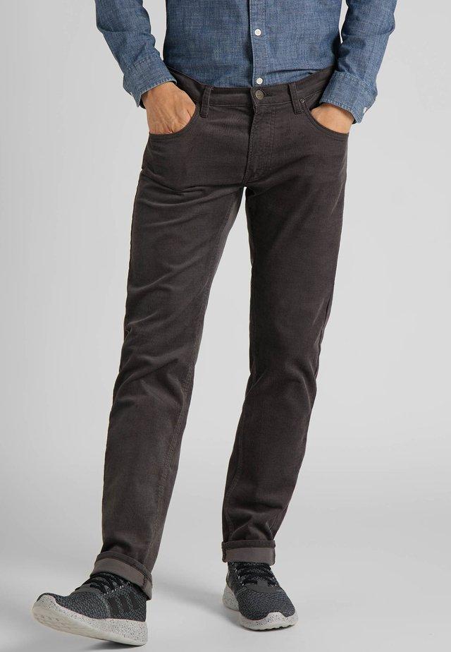 DAREN ZIP FLY - Trousers - pastel pink