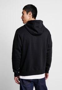 Nike Sportswear - CLUB HOODIE - Felpa con cappuccio - black/white - 2