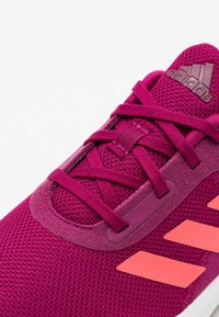 adidas Performance - FORTARUN UNISEX - Neutral running shoes - power berry/signal pink/footwear white - 5